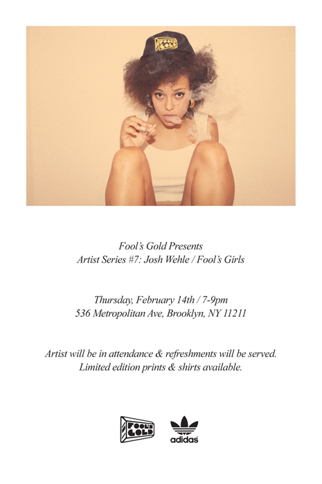 Fool's Gold Artist Series Returns 2/14 | FOOL'S GOLD