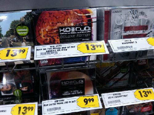 Kid Cudi Man On The Moon LP In Stores Today Posted Sep 15th 2009 Shopaholics By Mr Goldbar