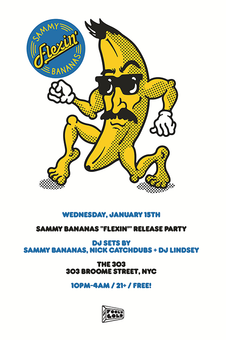 Sammy Bananas Quot Flexin Quot Ep Vinyl Pre Order Nyc Release